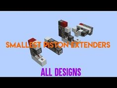 Hey guys, Wifies here! Today we will look at designs for horizontal and vertical double piston extenders and triple piston extenders. all of these designs ar. Minecraft Stuff, Minecraft Ideas, Minecraft Redstone Tutorial, Working Robots, Minecraft Building Blueprints, Minecraft Designs, Building Ideas, Small World, All Design