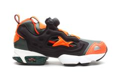 Reebok Pump Fury Darkest Olive Blazing Orange  Outfitting another coveted  rendition to the iconic Pump Fury a047840b7