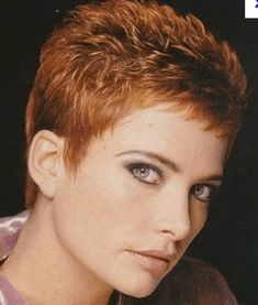 Icy Short Pixie Cut - 60 Cute Short Pixie Haircuts – Femininity and Practicality - The Trending Hairstyle Short Pixie Haircuts, Cute Hairstyles For Short Hair, Short Hair Cuts For Women, Cut Hairstyles, Super Short Hair, Short Grey Hair, Pixie Cut Kurz, Pixie Cuts, Natural Hair Styles