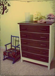 children's dresser redo