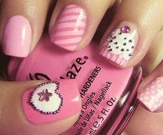 omg cupcake nail!