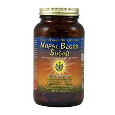Nopal Blood Sugar™ Nopal Cactus nutritionally supports pancreatic, insulin and blood sugar functions; healthy cholesterol; enhanced bowel function/removal of bowel toxicity; immune system function; and the timed release of nutrients.