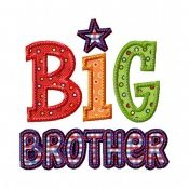 Big Brother 2 Applique