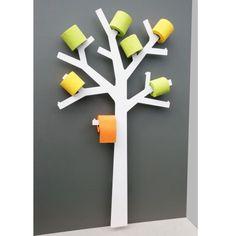 Le Pqtier - Arbre à Papier WC - Presse citron - une idée cadeau dénichée par Georges sur AlloCadeau.com -