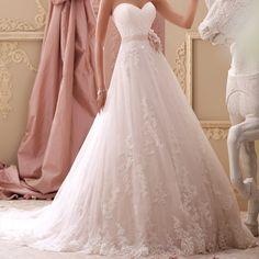 Coleção 2015 - Vestido Brakesley por David Tutera #vestidosdenoivas #casamentos #inspiracao