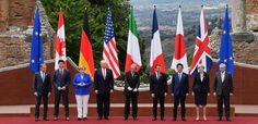 Líderes do G7 inauguram oficialmente a cúpula do G7