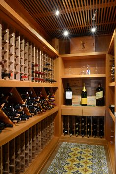Pin by Taty Fernandes on Interiores Caves, Bel Air House, Liquor Storage, Wine Cellar Basement, Wine Cellar Design, Wine House, Wine Display, Modern Craftsman, Wine Decor
