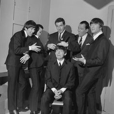 """Mop Tops - The Beatles: Backstage at """"The Ed Sullivan Show"""" - Pictures - CBS News"""