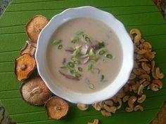 Sopa Crema de Hongos y Castañas de Cajú  o nueces de la India #QueRicaVida #receta