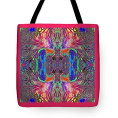 "Natural Deco Gothic Cross Tote Bag (18"" x 18"") by Expressionistar Priscilla-Batzell.  The tote bag is machine washable, available in three different sizes, and includes a black strap for easy carrying on your shoulder.  All totes are available for worldwide shipping and include a money-back guarantee."