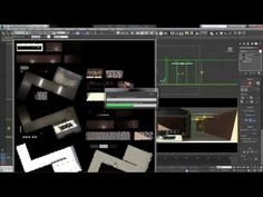 Baking Textures in 3DS Max - Render to Texture - YouTube