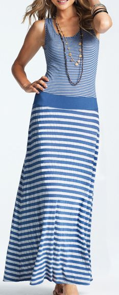 Boardwalk Stripes Maxi Dress!! Just bought this!!!