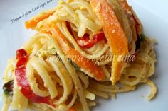 Carbonara vegetariana – ricette light con gusto