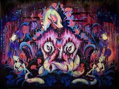 Camille Rose Garcia Imagines Gothic-psychedelic Nature in New Exhibit | Hi-Fructose Magazine