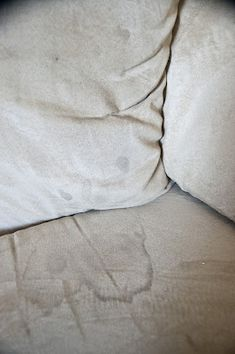 Cleaning that microsuede couch... This really does work my sister in law has 5 kids an wit that you can't keep everything perfect! I'm not kidding you her couch looked BRAND NEW when she was finished!