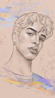how to draw hands Pencil Art Drawings, Art Drawings Sketches, Guy Drawing, Drawing People, Drawing Poses, Pretty Art, Cute Art, Cool Wall Art, Portrait Sketches