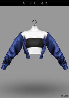 Stellar tube jacket at TSLOK • Sims 4 Updates