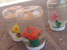 Met Fumo-klei. Een eigen Sneeuwbol maken | tussen kunst en kids lessen