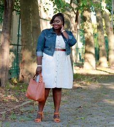 Taking Strolls Through The Park In Old Navy | Stylish Curves