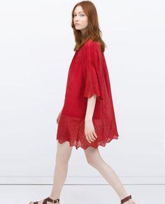 ZARA - WOMAN - BOX PLEAT DRESS