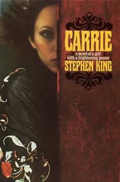Stephen King, the Master of Horror himself, is a big culprit for my fascination with the paranormal. Carrie Novel, Horror Books, Horror Fiction, Horror Stories, Horror Films, Stephen King Novels, Carrie Stephen King, Steven King, Book Club Books