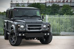 Land Rover Defender 'The End' by Kahn Design