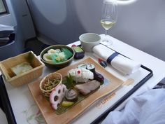 Lufthansa Aviazione : Cibo di Giapponese-stile「Washyoku」