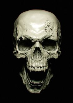 skull looking down - Google Search