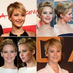 Jennifer Lawrence Rocks Her Pixie Cut At 'Catching Fire' European Premieres