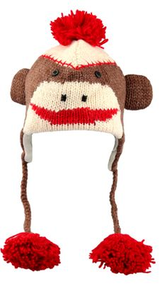 53c54146c14 Pure silliness to put on your head Sock Monkey Hat