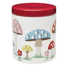The biscuit jar is definitely one of the most important items in the kitchen. Make yours a cheerful one. airtight seal