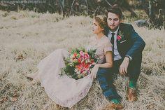 Ashley + Marcus // Romantic and Ethereal Spring Wedding Shoot // Payson, Arizona » West Coast Intimate and Elopement Wedding Photographer