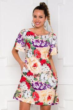Pagina 2 - Rochii de Zi Casual - Preturi Avantajoase | DyFashion Floral Tops, Peplum, Casual, Women, Fashion, Moda, Fashion Styles, Fashion Illustrations, Fashion Models