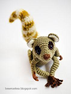 Sartù the Lemur - amigurumi pattern. €4.00, via Etsy.