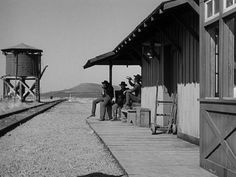 """""""High Noon"""", Directed by Fred Zinnemann, 1952 Fred Zinnemann, Lloyd Bridges, Orange Quotes, Real Cowboys, Dust Bowl, Gary Cooper, Tomorrow Is Another Day, White Heat, Star Wars"""