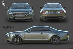 Torino 380 Concept : hommage virtuel à la Renault Torino argentine - Photo Automobile, American Auto, Ford Torino, Argentine, Futuristic Cars, Automotive Design, Electric Cars, Chevy Trucks, Motor Car