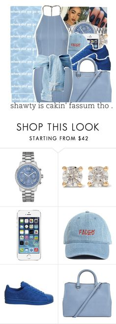 """""""♛♛"""" by trxp-trxll ❤ liked on Polyvore featuring GUESS, Anita Ko, AT&T, adidas, MICHAEL Michael Kors and Topshop"""