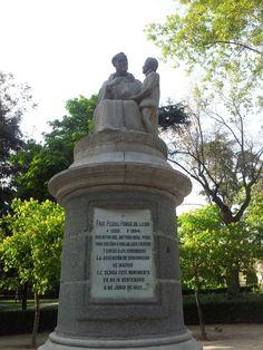 Fray Pedro Ponce de León. Parque del Retiro