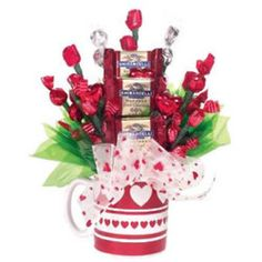 Coffee Mug gift with candy pick, Pic only