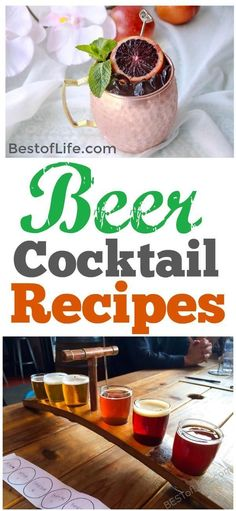 Beer is a drink I always welcome, but you can also use it as an ingredient in some of the best beer cocktail recipes as well. Beer Cocktail Recipes, Gin Recipes, Easy Cocktails, Drinks Alcohol Recipes, Yummy Drinks, Fun Drinks, Delicious Recipes, Alcoholic Drinks, Recipies
