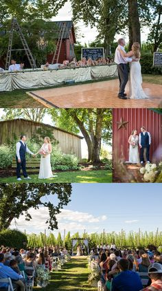 Kylie And Robbys Wedding At Wilmes Hop Farms In Aurora Oregon Photographed By Photographer Tekoa Rose Photography