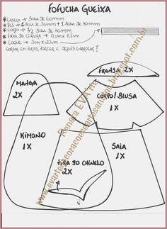 MOLDES DE E.V.A: MOLDE GUEIXA..