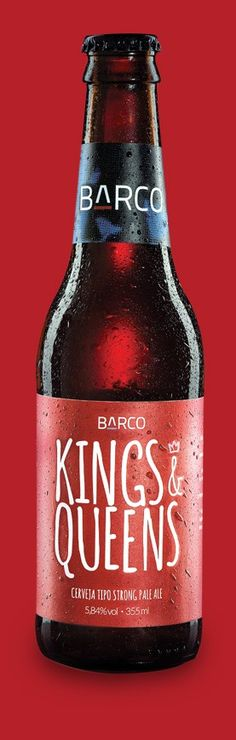 Barco Kings & Queens. Cerveja Tipo Strong Pale Ale. Porto Alegre-RS. #brazil #beer #barco #brew