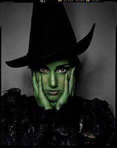 Idina Menzel as Elphaba in Wicked