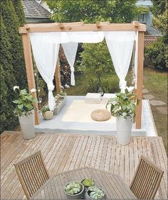 home-yoga-room-outside-deck.... If only I lived in a climate in which this was possible!                                                                                                                                                     More