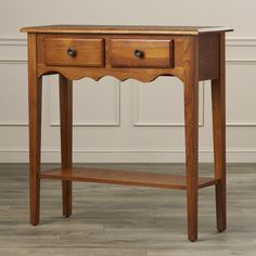 Found it at Wayfair - Apple Valley Petite Console Table