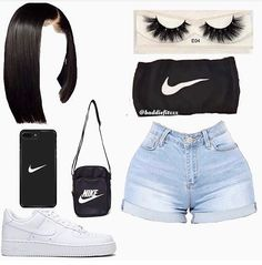 Stylish Outfits for Teens Cute Lazy Outfits, Swag Outfits For Girls, Teenage Girl Outfits, Cute Swag Outfits, Girls Fashion Clothes, Teen Fashion Outfits, Girly Outfits, Grunge Outfits, Dope Outfits