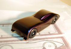2009 Pinewood Derby Car #1 (Step 20, finished) | by cdubya1971