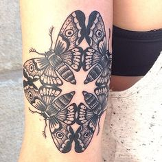 moth tattoo | Tumblr