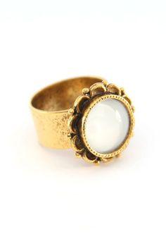 Lovely ring.